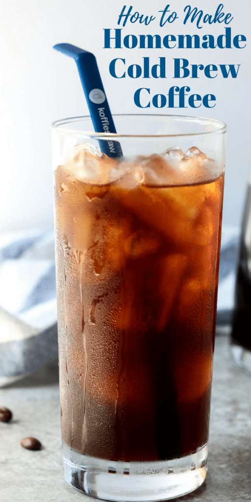Homemade Cold Brew Coffee Recipe Drinks Cocktails Recipes