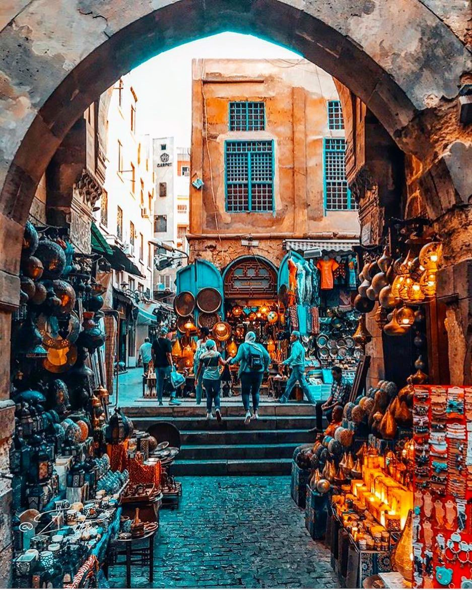 Image May Contain Outdoor Egypt Old Street Cairo