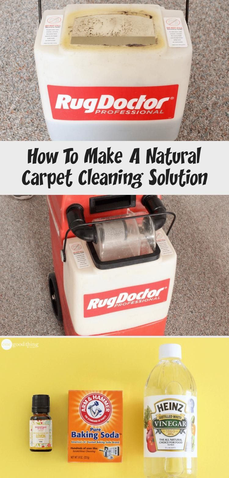 How To Make A Natural Carpet Cleaning Solution · Jillee