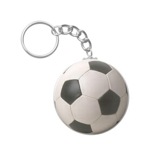 Soccer Ball Keychains Black And White Football Soccer Soccer Birthday Parties