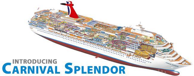Great Plans For Carnival Splendor Deck Excellent - Pictures of the carnival splendor cruise ship