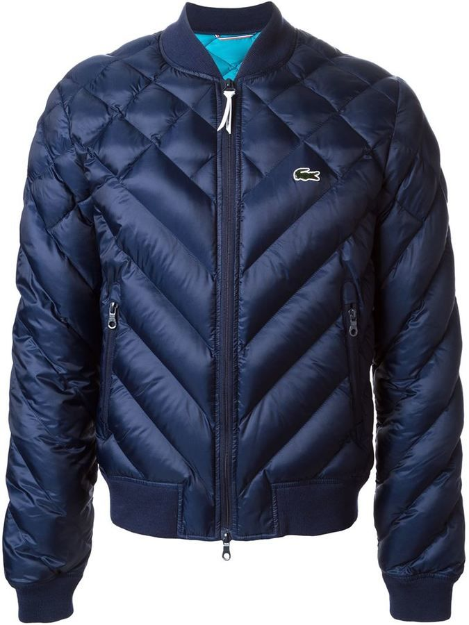 Lacoste live quilted jacket on shopstyle pdiddy