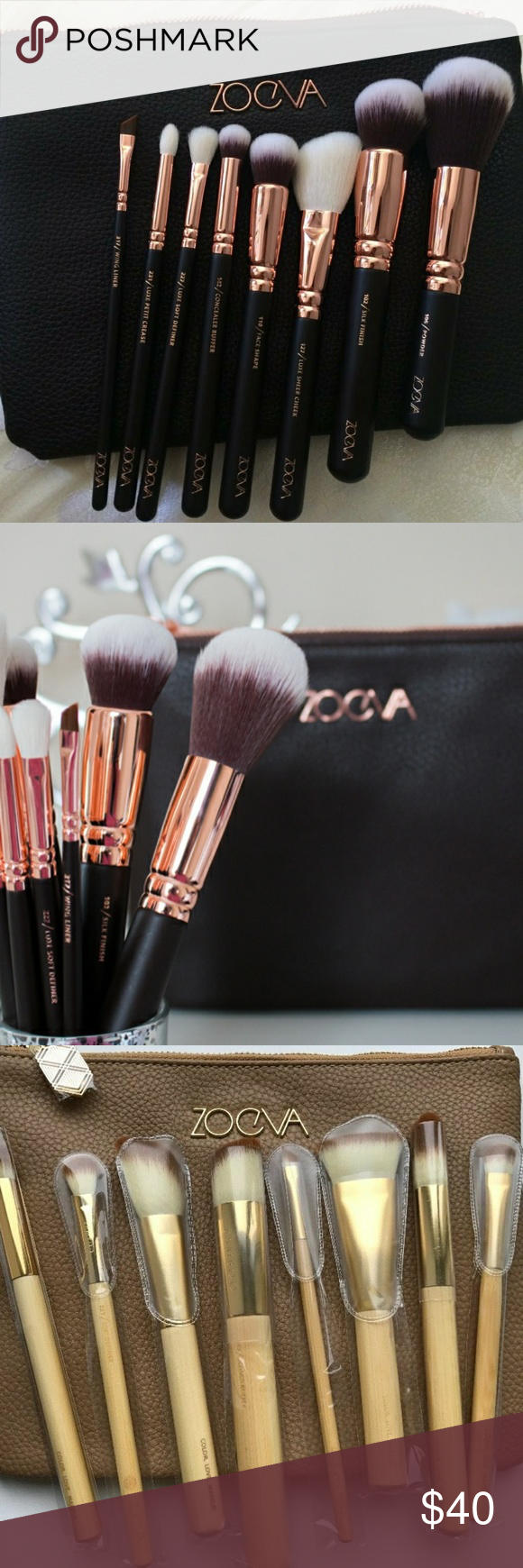 Zoeva Luxury Brush Sets (8 pcs) NWT (With images) Brush