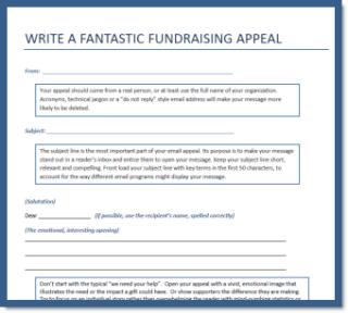 nonprofit fundraising appeal templates fundraising tips pinterest nonprofit fundraising. Black Bedroom Furniture Sets. Home Design Ideas