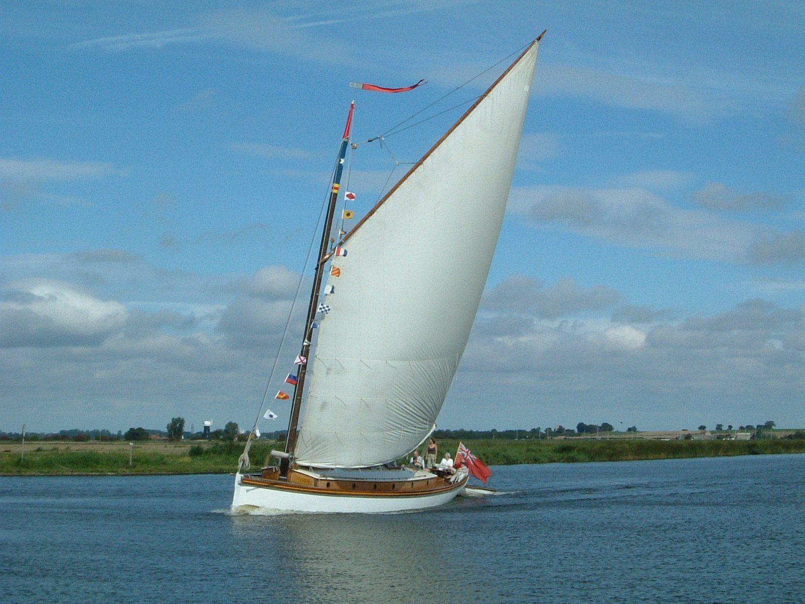 Norfolk Wherry,  pleasure boat