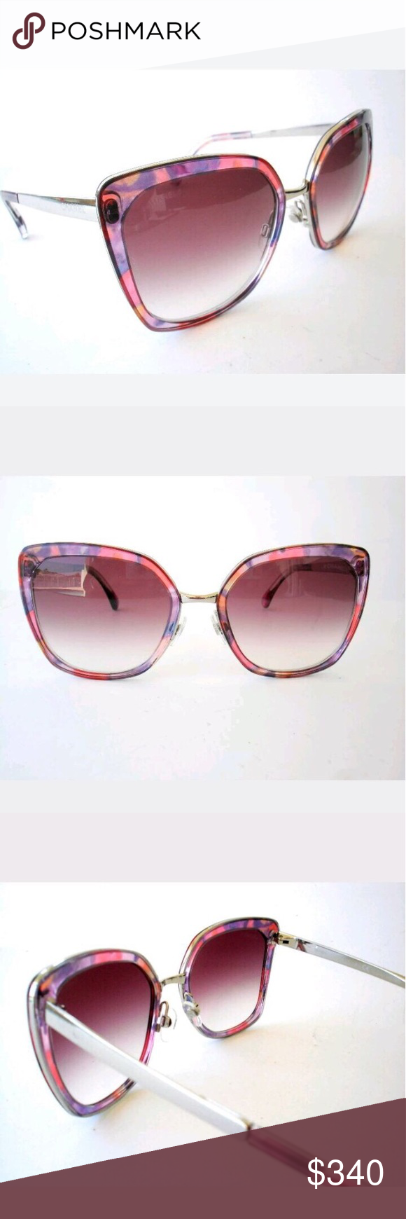Spotted while shopping on Poshmark: NWOT Chanel sunglasses! #poshmark #fashion #shopping #style #CHANEL #Accessories