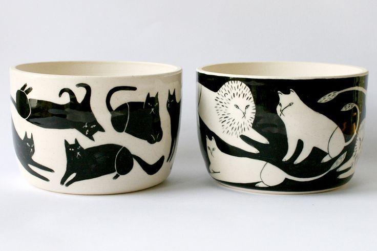Keep Company Ceramics Illustration By Jen Collins Ceramic Art Ceramic Painting Ceramic Tableware