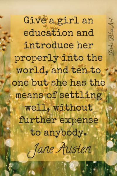Jane Austen World Changing Women