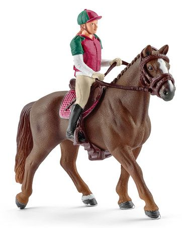 Look What I Found On Zulily Eventing Rider Figurine Set Zulilyfinds Eventing Horses Schleich Horses Stable Horses