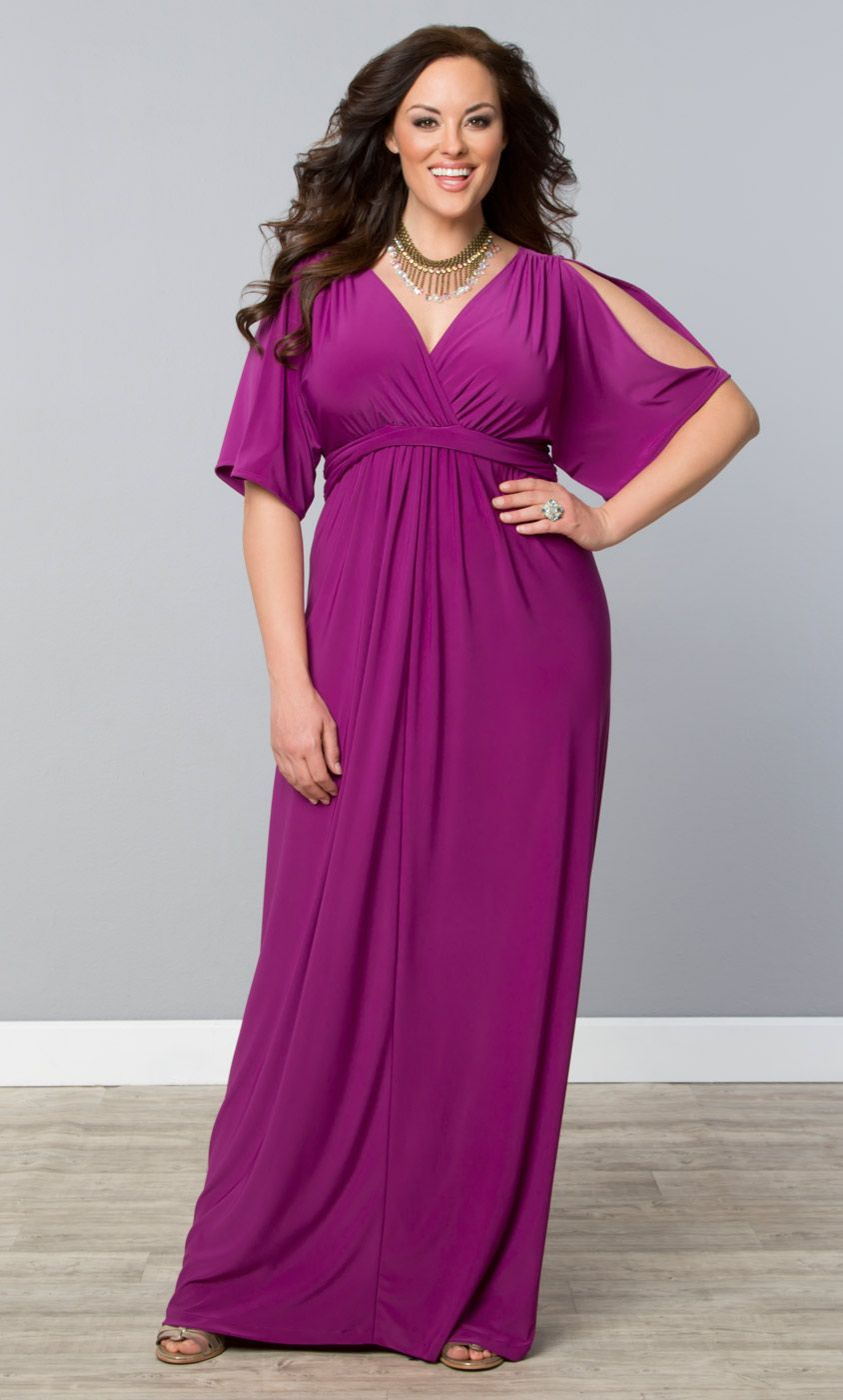 Stay cool and look amazing in summer with our plus size maxi dresses