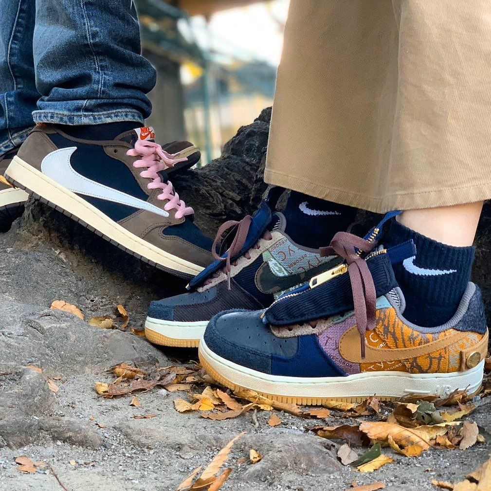 Air Force 1 Low Travis Scott Cactus Jack With Images