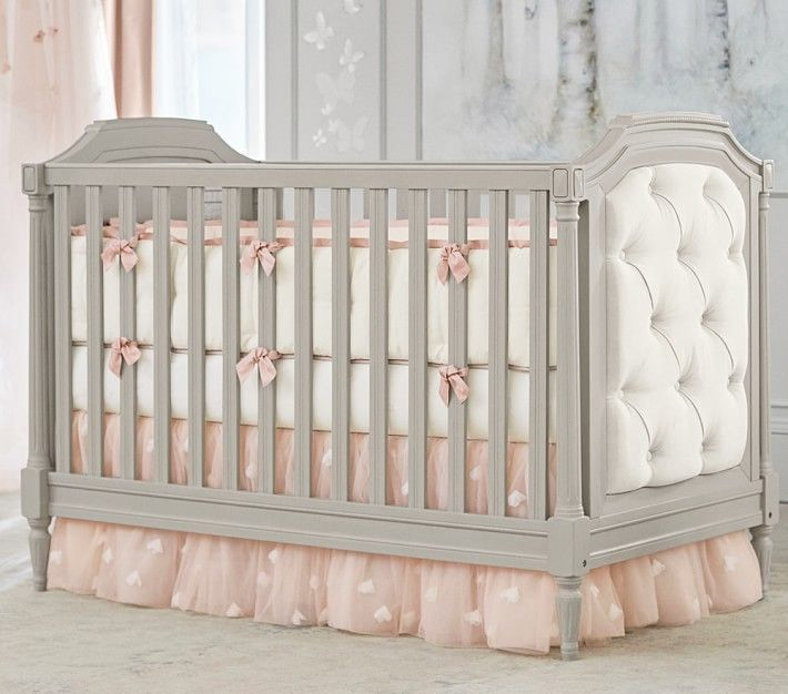 Pottery Barn Kids Nursery Bumper Bedding Set Bumper Crib Fitted