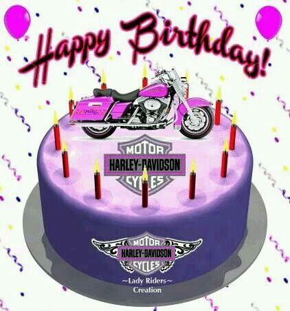 Happy B Day Harley Happy Birthday Harley Happy Birthday Motorcycle Happy Birthday Harley Davidson
