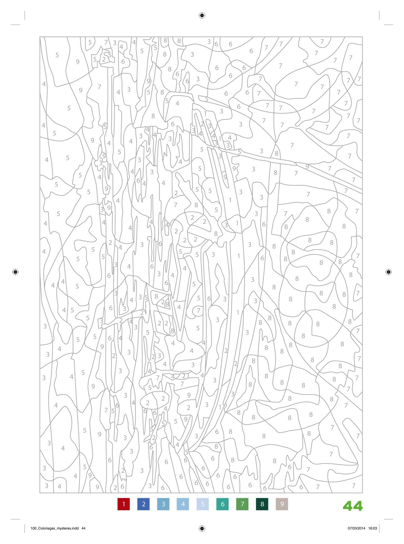 Coloriage Mystere Disney Tome 4 : coloriage, mystere, disney, 81QT66OYl8L.jpg, (1400×1886), Color, Number, Printable,, Mandala, Coloring, Pages,, Pattern, Pages