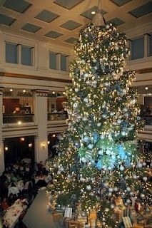 i loved eating under the big tree at marshall field company in chicago every christmas season growing up