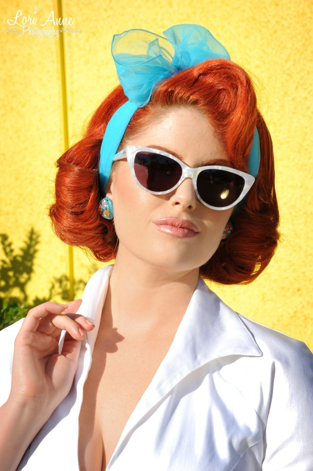 Pin up hair with scarf shop the look vintage rockabilly