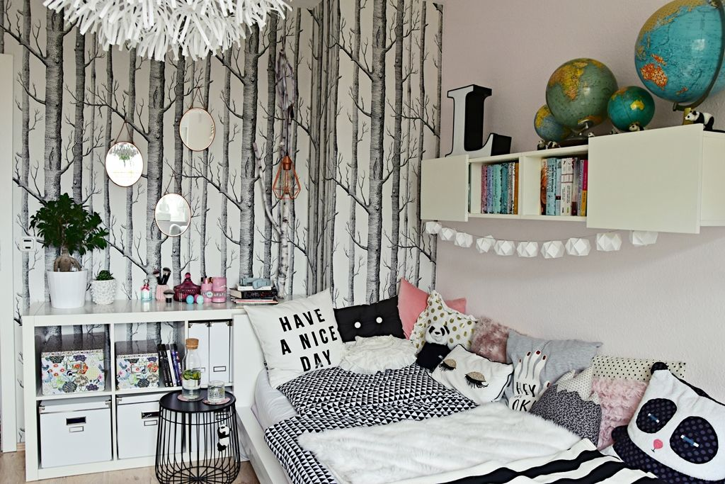 teenager m dchen zimmer teen room makeover in 2018 teenager pinterest jugendzimmer. Black Bedroom Furniture Sets. Home Design Ideas