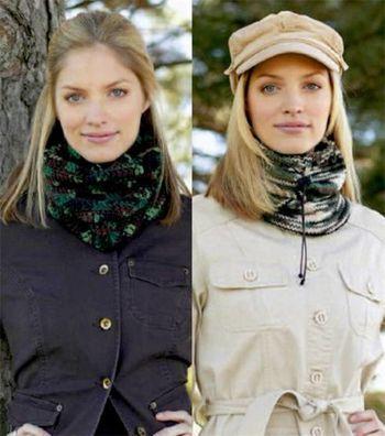 Knit or Crochet Neckwarmer