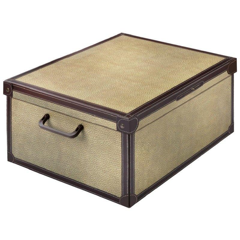 Boite De Rangement Decorative Carton Avec Couvercle Decor Tapitus Boite De Rangement Boites De Rangement Decoratives Boite De Rangement Carton