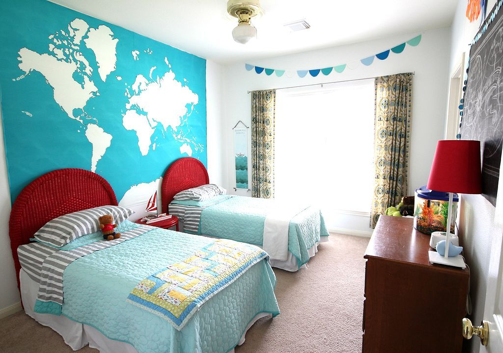 Fresh Boy and Girl Bedrooms