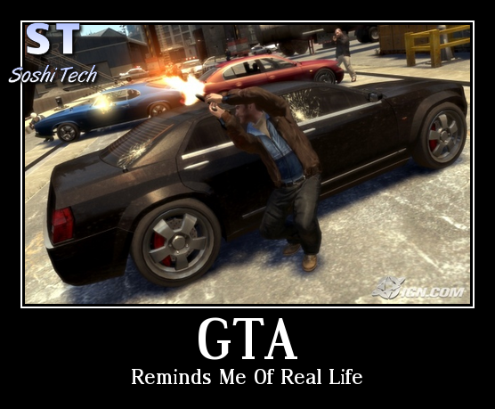 This is kind of true... Grand theft auto games, Gta