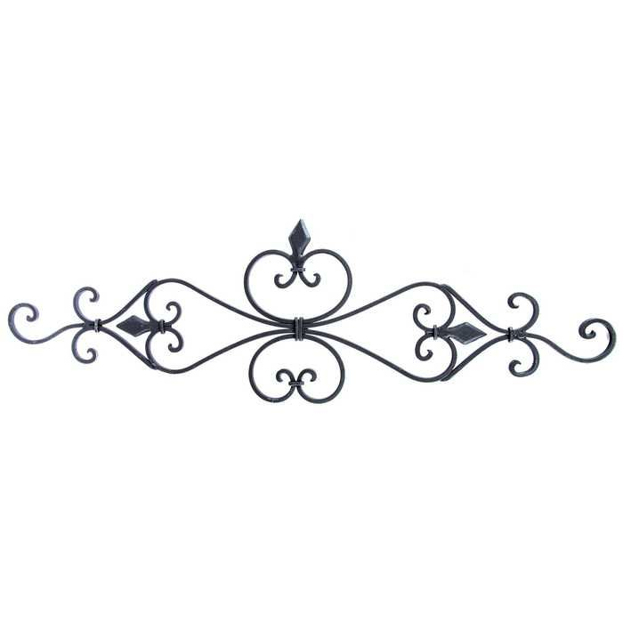 Black Pediment Metal Wall Decor In 2020 With Images Decorative