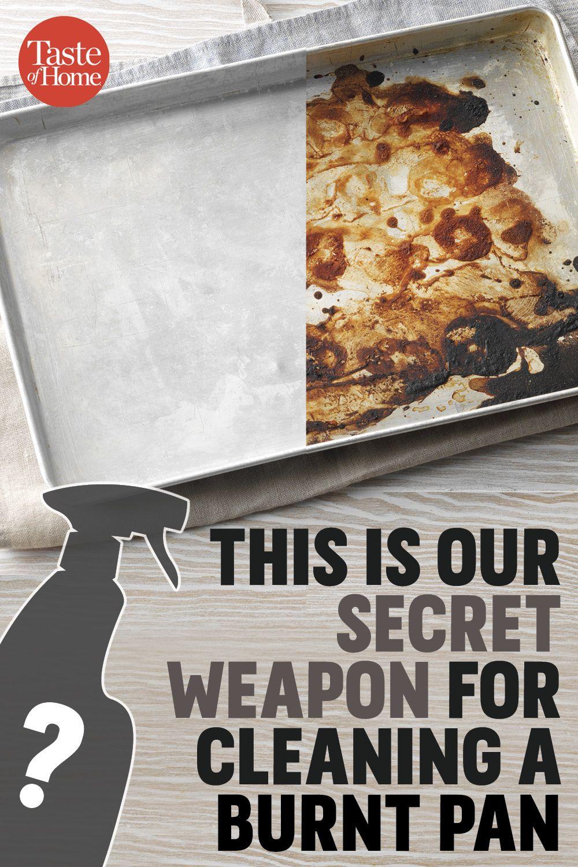 The Secret Weapon That Gets Burned-on Food Gone