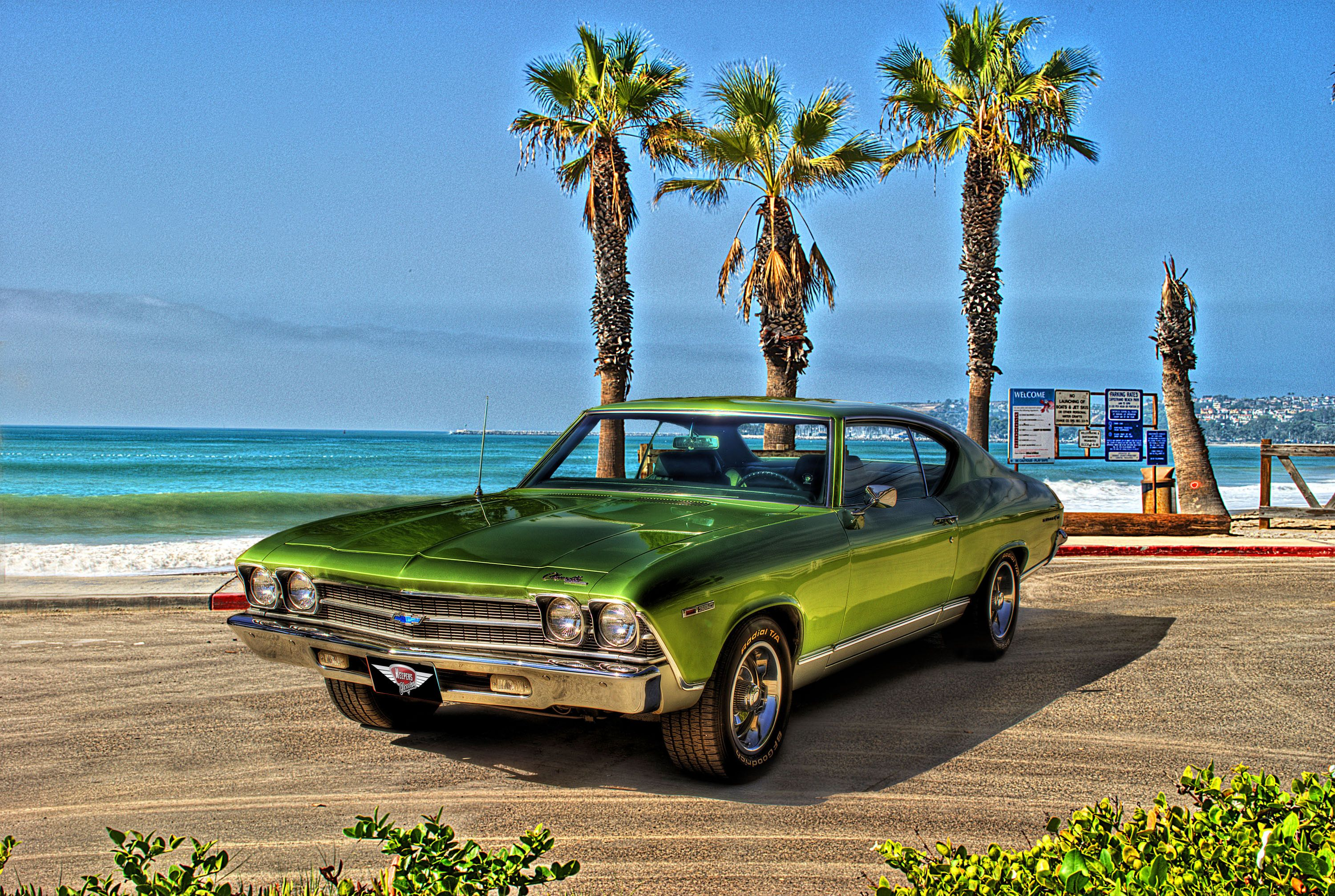 """1969 Chevrolet Chevelle favored 60s """"Muscle Car"""" Chevelle"""