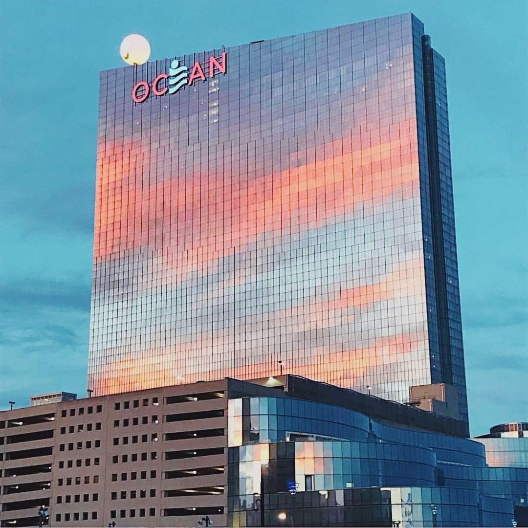 Ocean Casino Resort On Instagram Where The Sunset Kisses The Ocean Theoceanac Denisemuldoon Casino Resort Resort Instagram