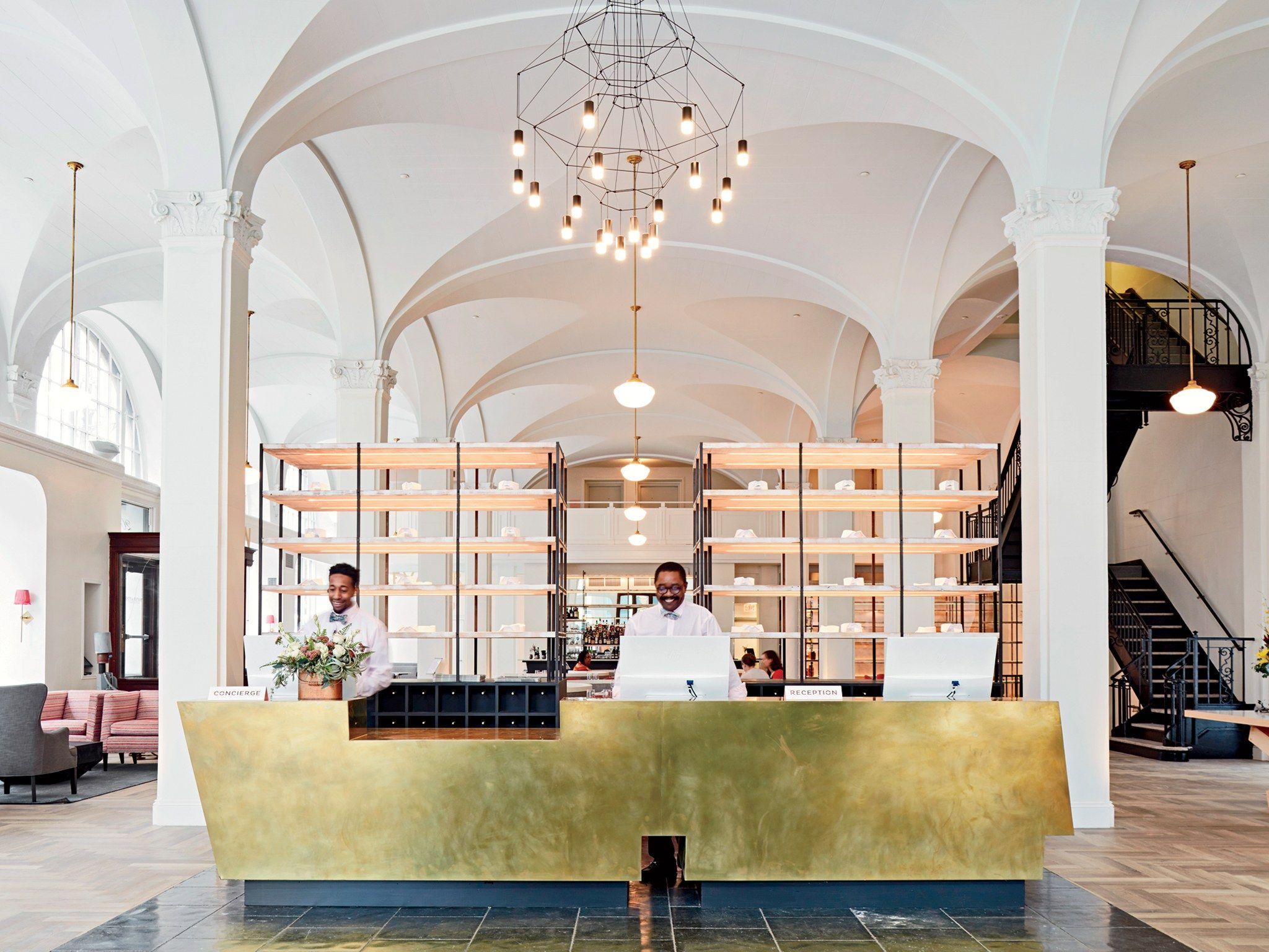 The Best New Hotels In The U S Hotel Interiors Hotel Interior Design Hotel