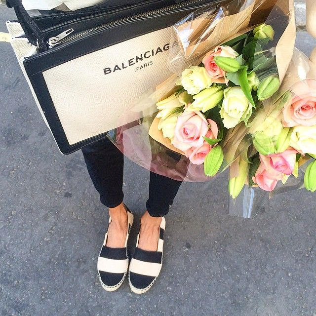 Wearing: Zara espadrilles x Paige Denim x Balenciaga bag #fwis #london
