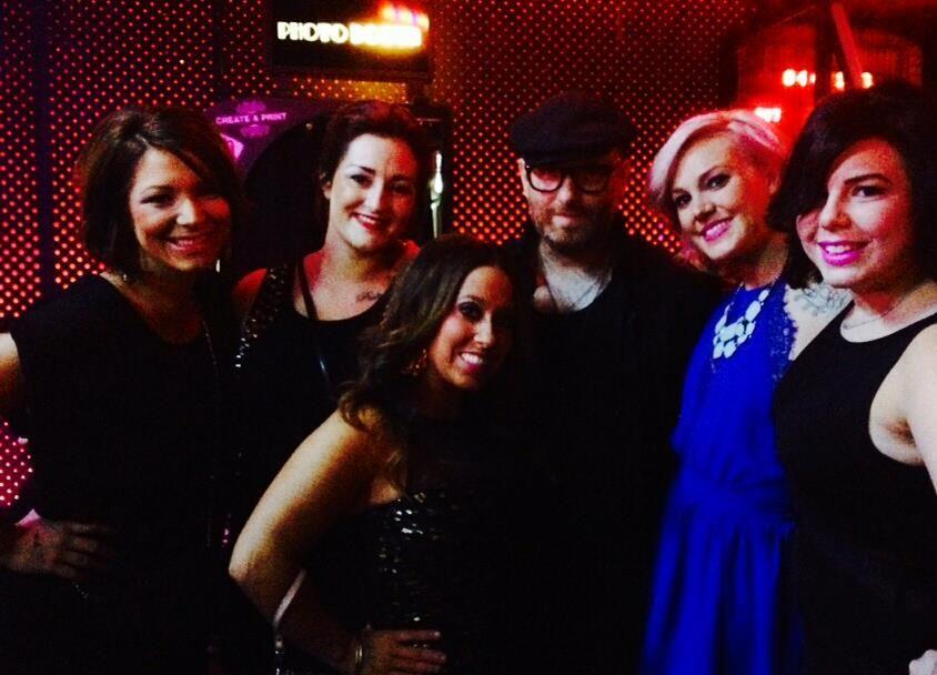 Blaze girls with Charlie Price - #BlazeSlaon #CharliePrice #Salon #haircare #Hairstylists #celebritystylist