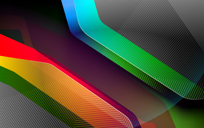 Download Wallpapers Abstract Material 4k Geometric Shapes Art Futuristic Dark Background Creative Geometry Besthqwallpapers Com Abstract Wallpaper Abstract Geometric Shapes Art