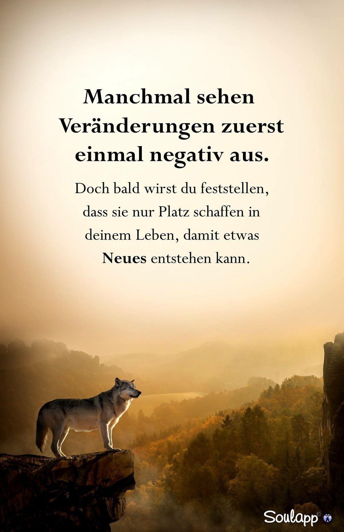 Das Leben besteht aus Veränderungen | Sprüche und Zitate | German