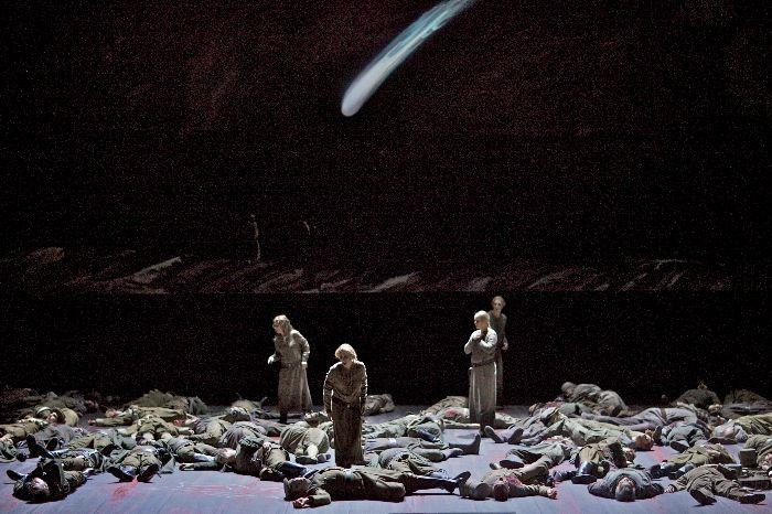 Lohengrin, Deutsche Oper, Berlin. 2012. Directed by Kasper Holten, design by Steffen Aarfing.