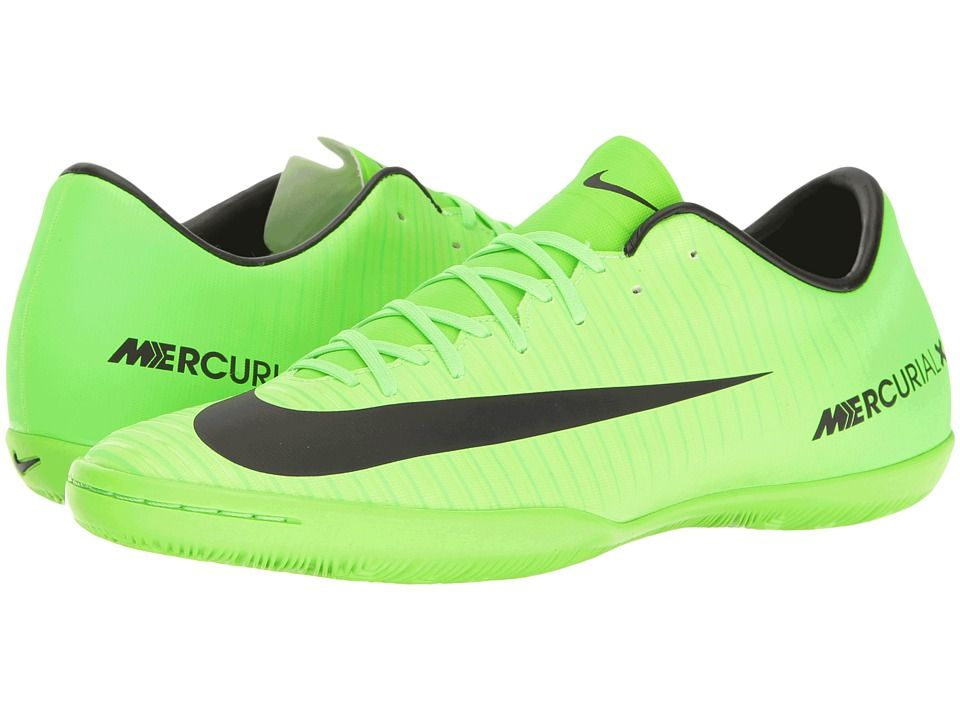 timeless design bc4c6 7f7cb NIKE NIKE - MERCURIAL VICTORY VI IC (ELECTRIC GREEN BLACK FLASH LIME WHITE)  MEN S SOCCER SHOES.  nike  shoes