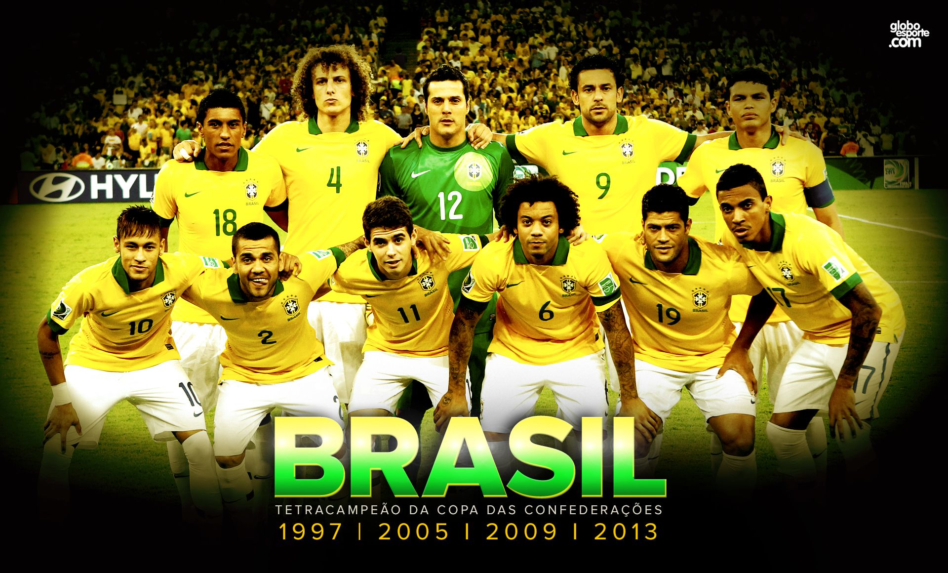 Confederations Cup 2013 BRASIL Four times champion