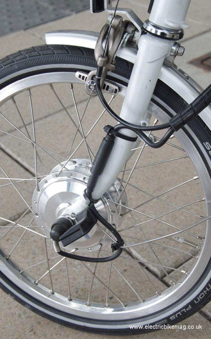 Bespoke E Bikes Converted Brompton Veiculos Bicicletas