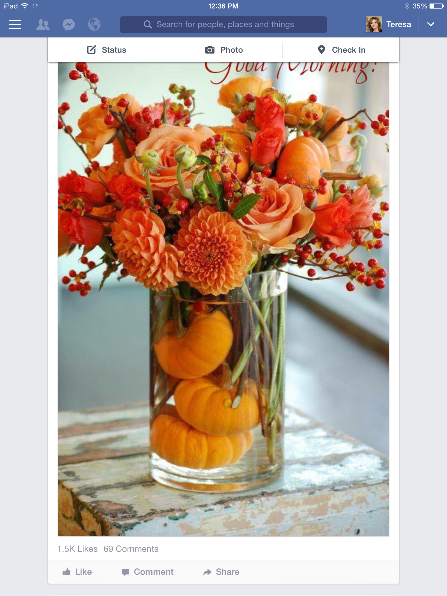 Decorating  Diy CenterpiecesPumpkin ...