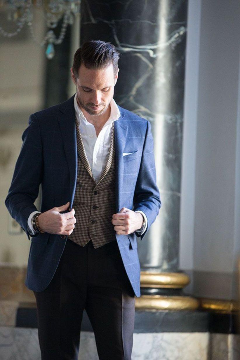 33 Best Mens Suit Wedding Guest This Fall Weddings Khaki Vest
