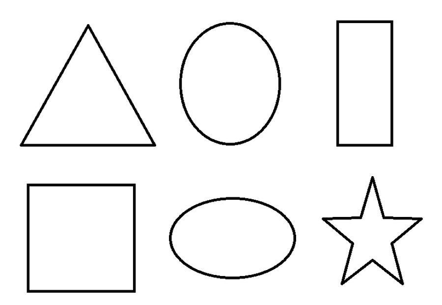 Basic Geometric Shapes Educational Coloring Pages Shape Coloring Pages Geometric Coloring Pages Printable Shapes