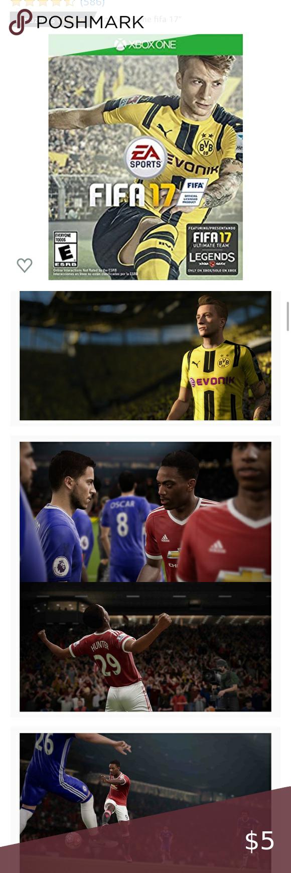 NWT Xbox One FIFA 17 NWT in 2020   Fifa, Fifa 17, Xbox one