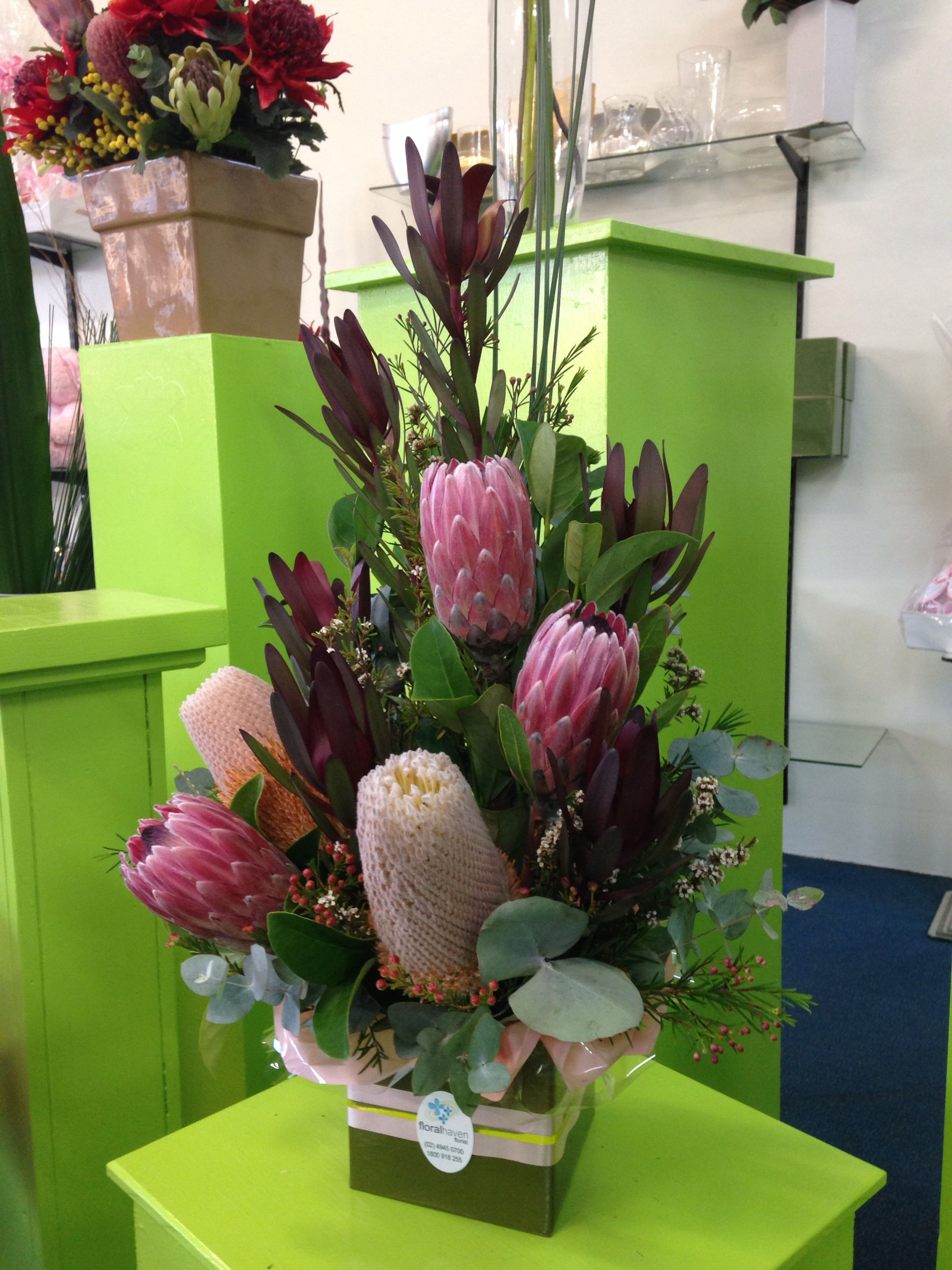Australian Native Arrangement Designer  Stephanie Hanley Wwwfloralhavenfloristcomau
