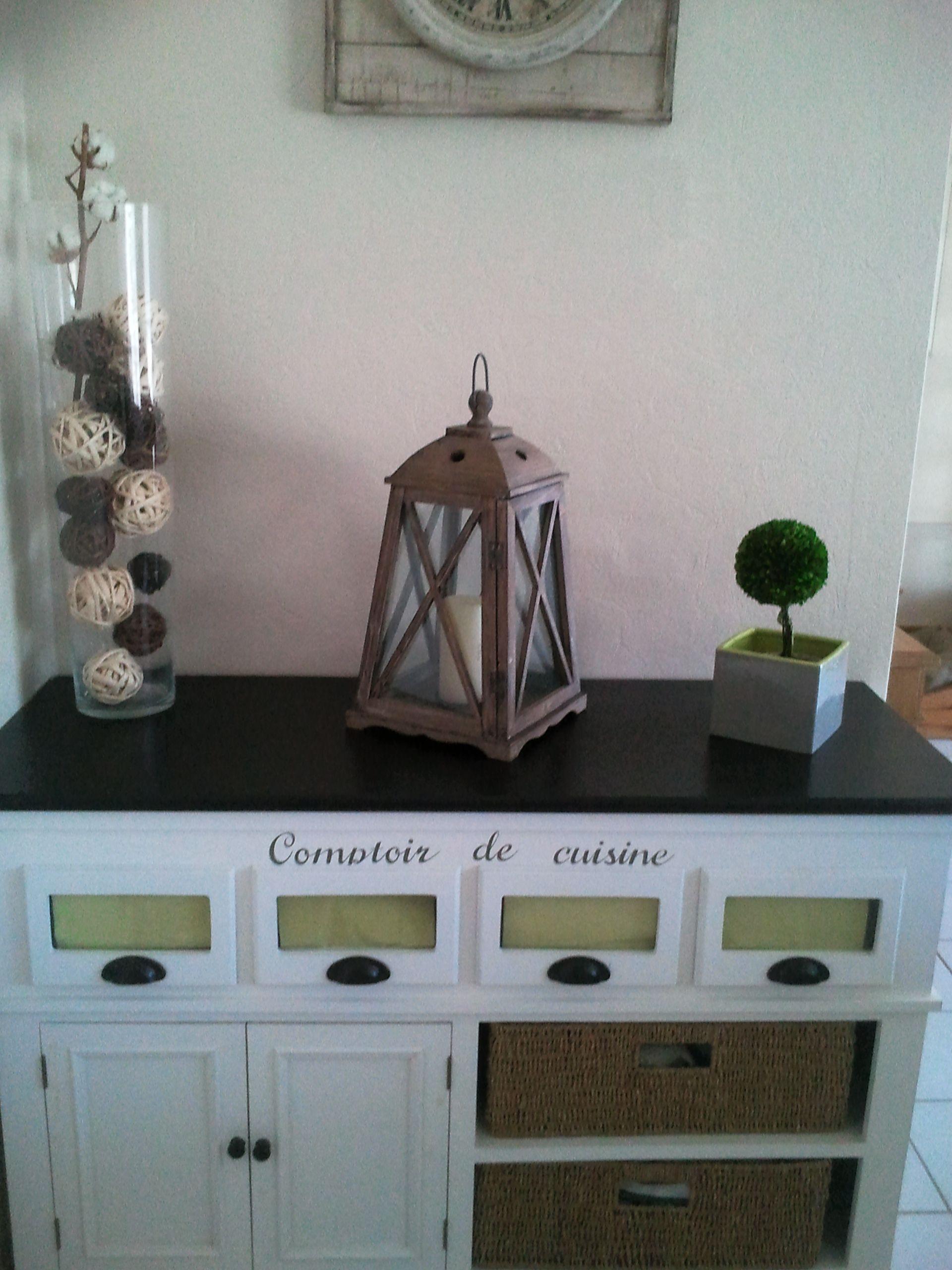 comptoir de cuisine maisons du monde cuisine pinterest. Black Bedroom Furniture Sets. Home Design Ideas