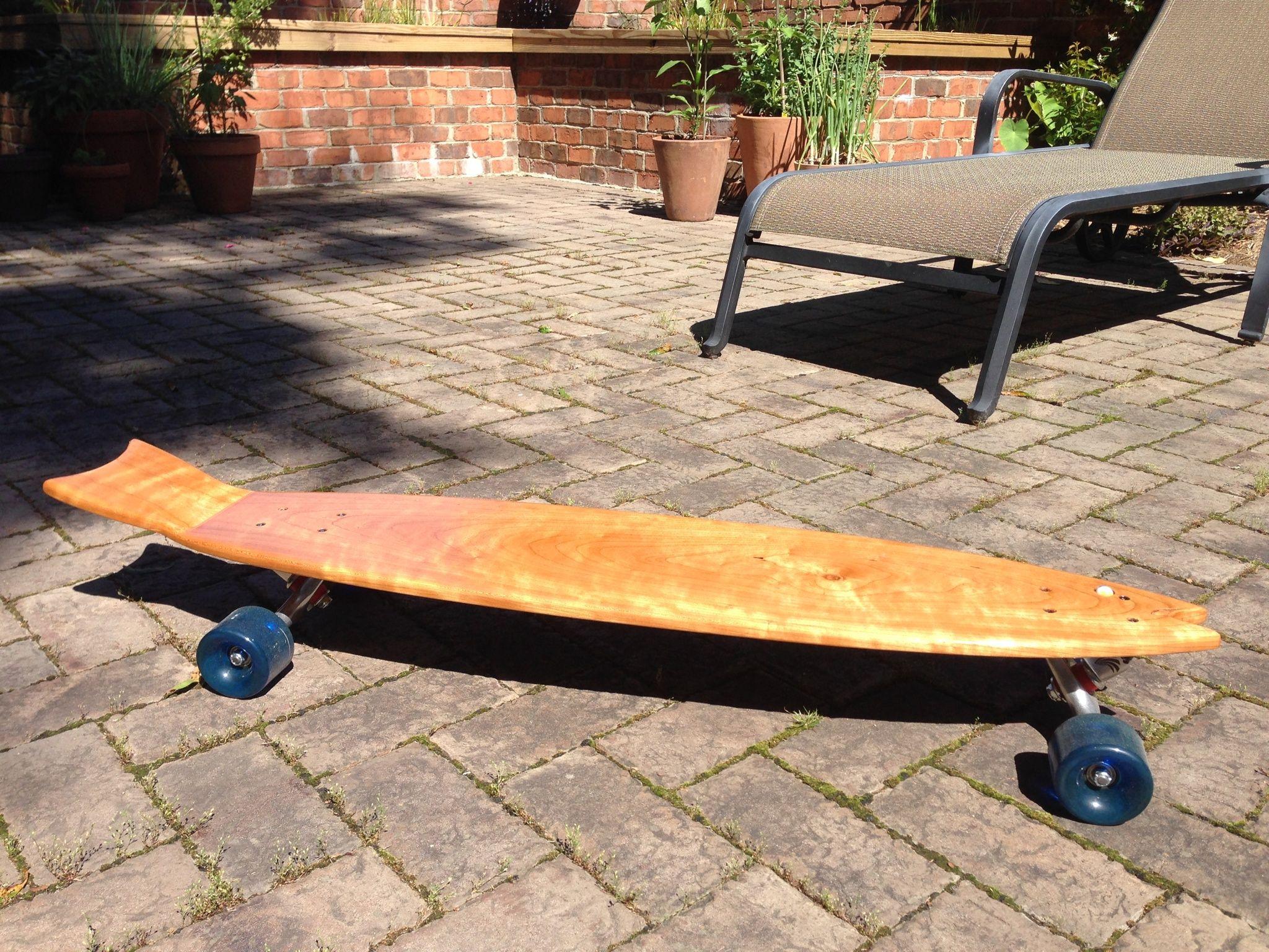 All Done And Ready To Swim Upstream Skateboards Skateboard
