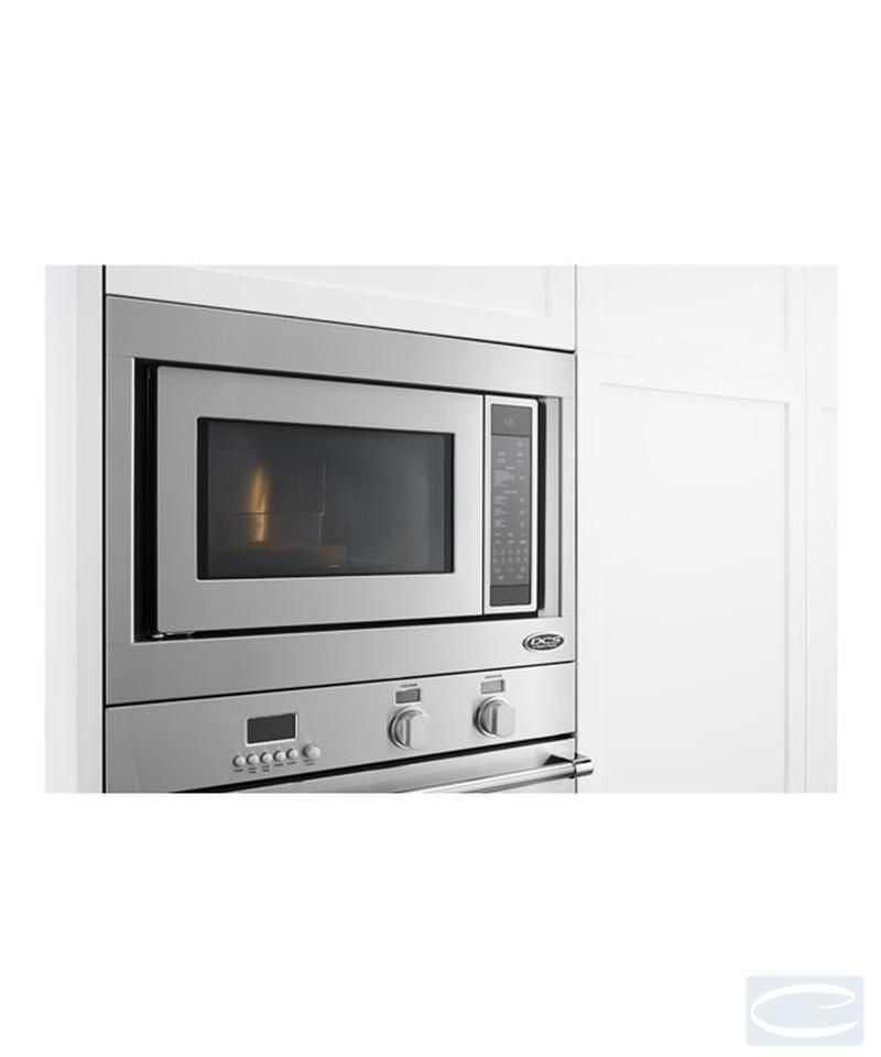 24 Dcs Convection Microwave Oven Brushed Stainless Steel Cmo 24ss 2