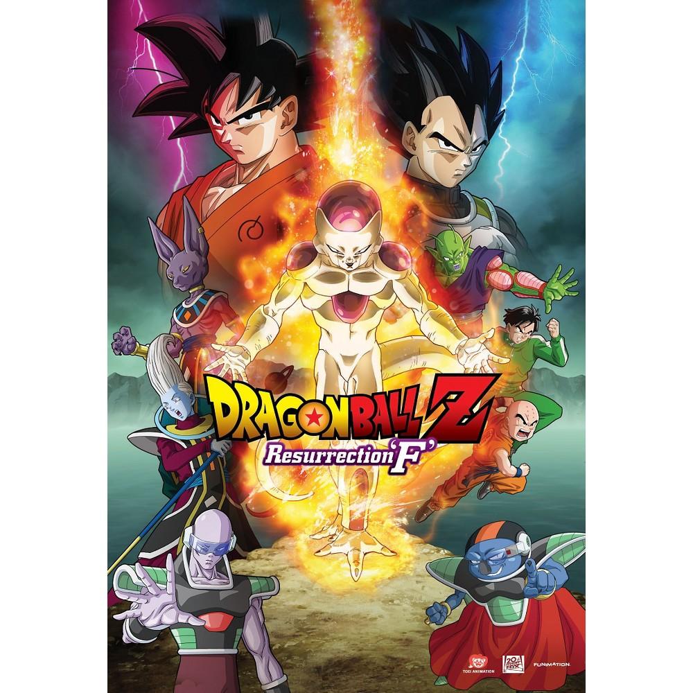 Dragonball Z Resurrection F Dvd Dragon Ball Z Dragon Ball Anime