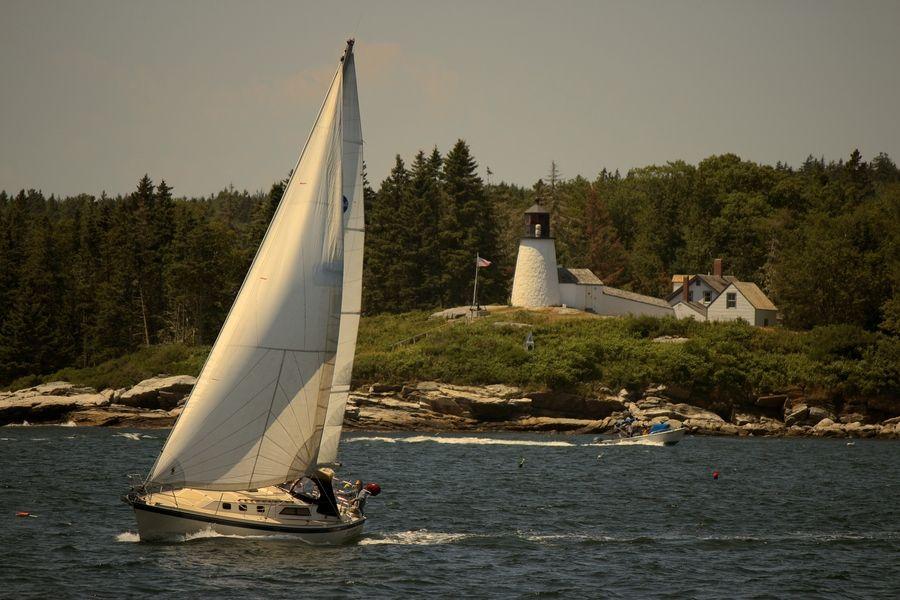 A Glimpse of Maine by Johnny Mancini, via 500px