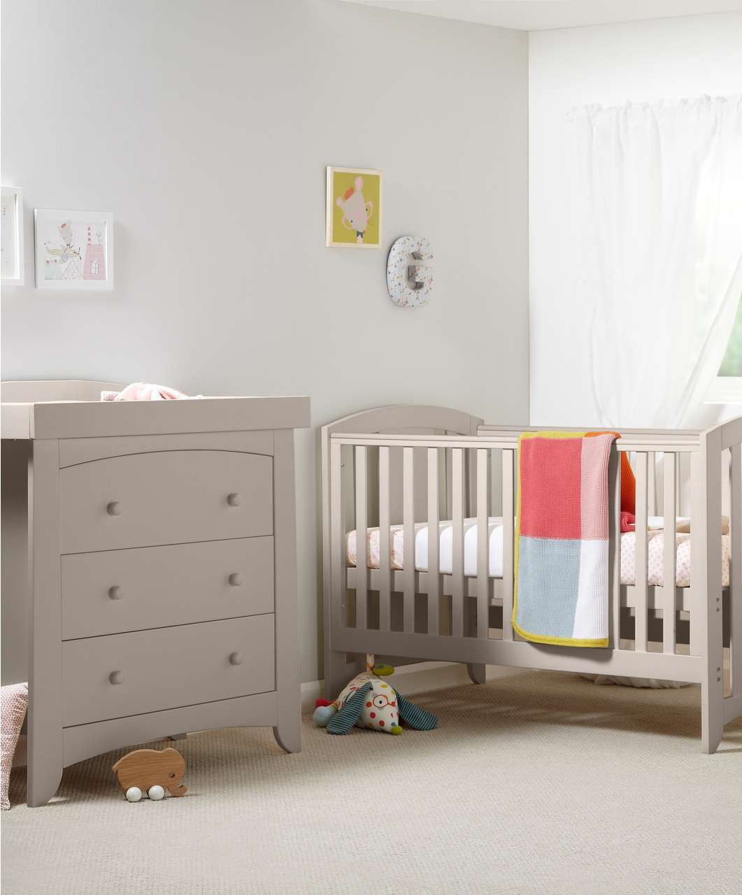 Mamas And Papas Bedroom Furniture Harbour Cot Day Toddler Bed Putty New Arrivals Mamas Papas