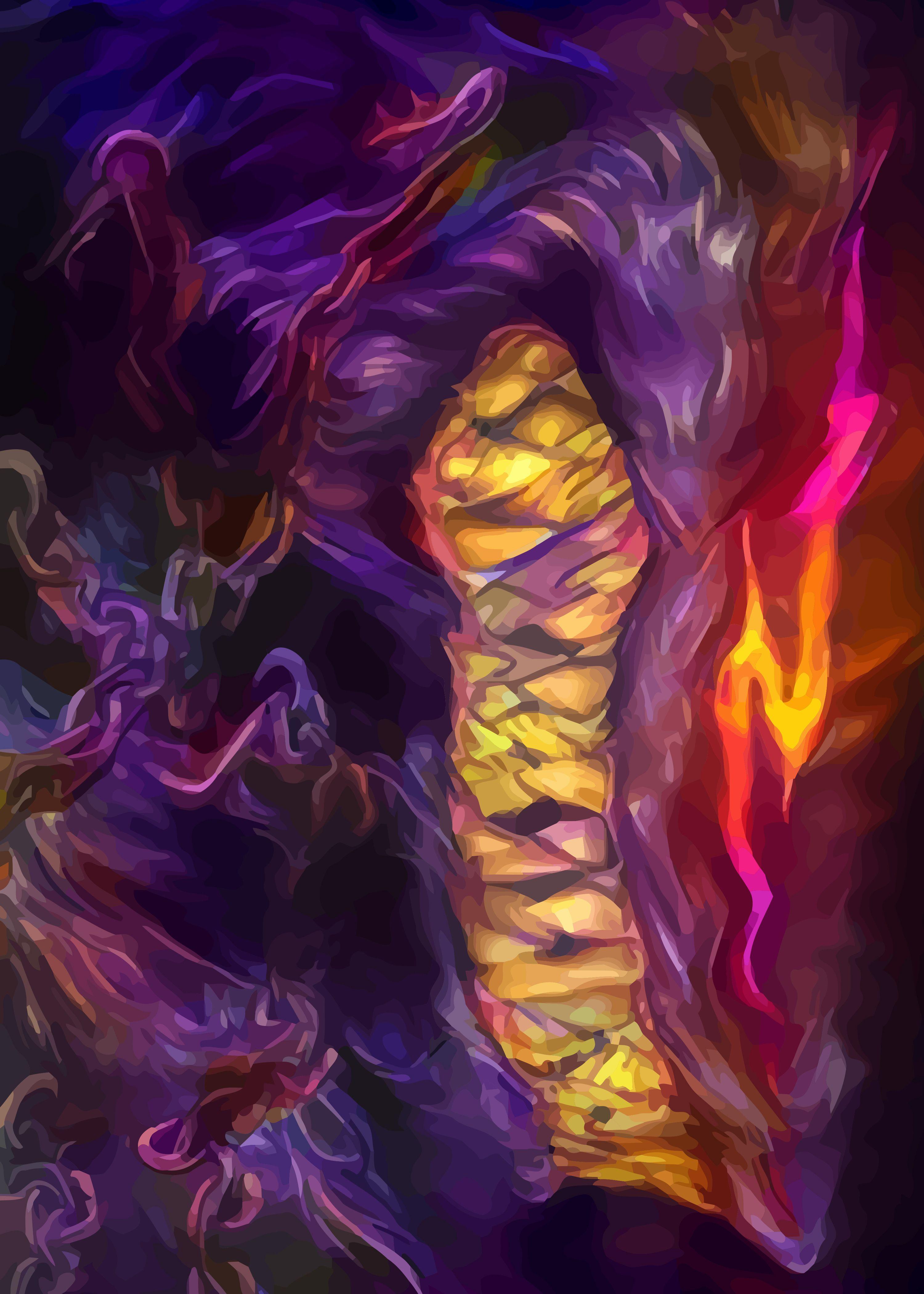 Beast Of Darkness | Displate thumbnail